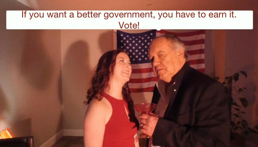 Get out the vote public service announcements